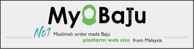 MyBaju - Number 1 Muslimah order made Baju platform website from Malaysia