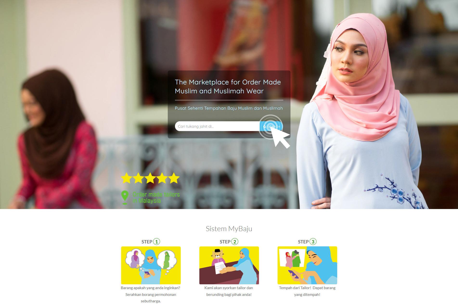 MyBaju - order made traditional tailors in Malaysia
